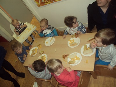 New menu at our Liverpool Day Nursery