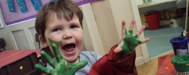 Happy Toddlers at our Liverpool Day Nursery